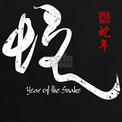 Year of the Snake 2013 - Distressed Tee