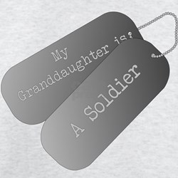 My granddaughter is a soldier T-Shirt