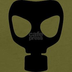 Black Gas Mask T-Shirt