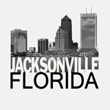 Jacksonville Skyline Shot Glass