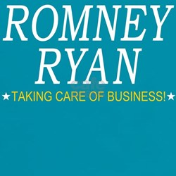 Romney Ryan Taking Care of Business Tee