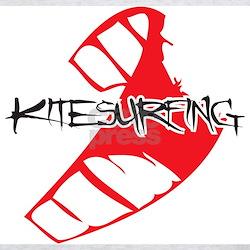 Kitesurfing C-Shape Kite - Ash Grey T-Shirt