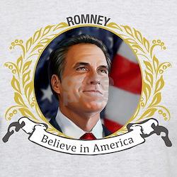 Romney Portrait T-Shirt