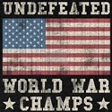World war champs T-shirts