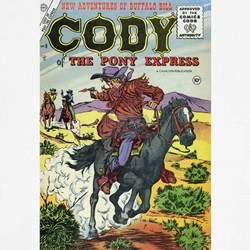 Cody of the Pony Express #8 T