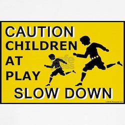 Caution Children At Play (AYS) T-Shirt