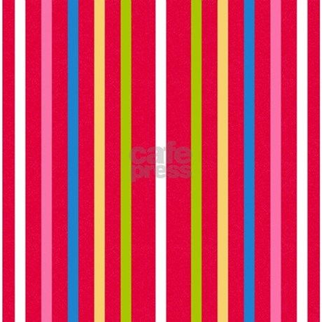 Multi Colored Striped Shower Curtain By Laurie77