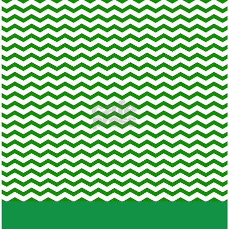 Green Chevron Shower Curtain By Inspirationzstore