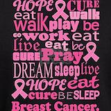 Breast cancer walk for a cure Sweatshirts & Hoodies