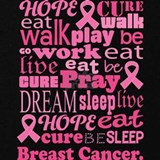 Breast cancer walk for a cure Sweatshirts & Hoodies