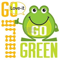 Go Green Frog Infant T-Shirt