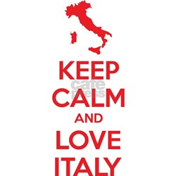 Keep Calm And Love Italy Postcards Package Height Width thumb