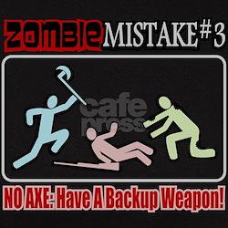 Zombie Mistake Axe Tee