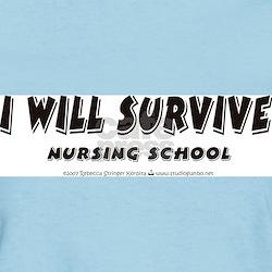 I Will Survive Ash Grey T-Shirt T-Shirt