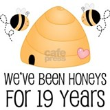 19th Anniversary Honey Water Bottle