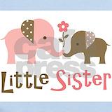 Little sister Baby Bodysuits