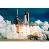 Space shuttle Wrapped Canvas Art