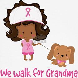 Breast Cancer Walk For Grandma Tee