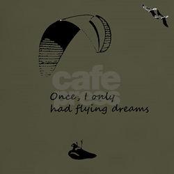 Flying Dreams dark t-shirt