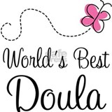 Doula (Worlds Best) Water Bottle