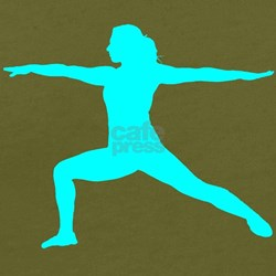 Yoga Warrior 2 Pose T-Shirt