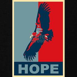 Hope: California Condor Birding T-Shirt T-Shirt