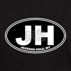 JH (Jackson Hole) Black T-Shirt