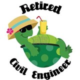 Retired Civil Engineer Gift Mug