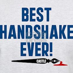 Castle Best Handshake Ever T-Shirt