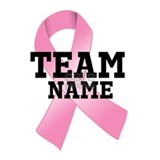 Team breast cancer awareness T-shirts