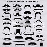 Moustache clothing T-shirts