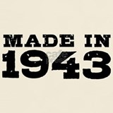 Made in 1943 shirt T-shirts