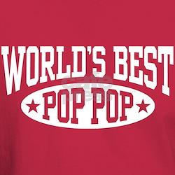 World's Best Pop Pop T-Shirt