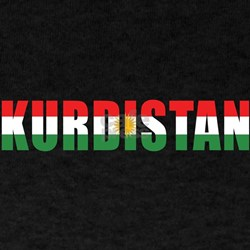 Kurdistan Black T-Shirt