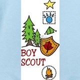 Boy scout Baby Bodysuits