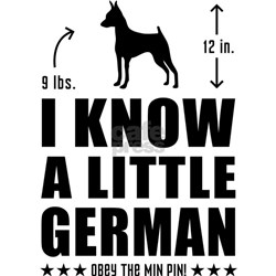 LITTLE GERMAN- Min Pin T-Shirt