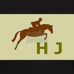 hunter jumper gifts (sage) Black T-Shirt