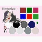 Winter Colors (Pk of 10)