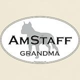 American staffie grandma T-shirts