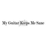 My Guitar Keeps Me Sane Mug