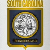 South Carolina State Seal (B) Drinking Glass