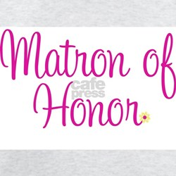 Matron of Honor Ash Grey T-Shirt