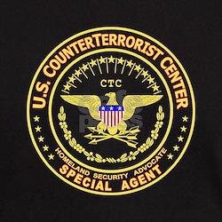 COUNTERTERRORIST CENTER -  Black T-Shirt