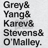 Grey yang karev stevens o'malley Sweatshirts & Hoodies