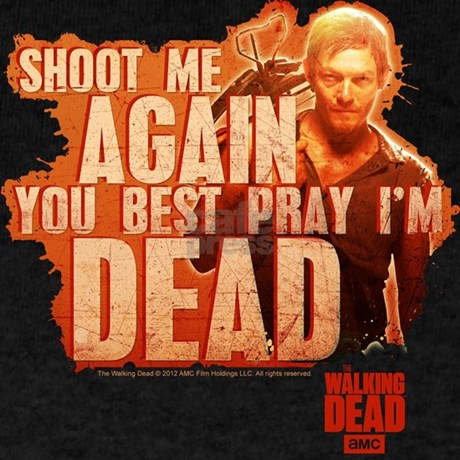 Amc Gifts > Amc T-shirts > Walking Dead Daryl Dixon T-Shirt