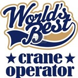 Crane Operator (Worlds Best) Sports Water Bottle