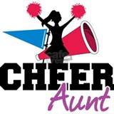 Cheer Aunt Sports Water Bottle