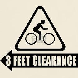 Cyclist Safety Shirt - 3 Feet Clearance - USA