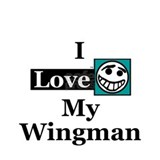 I Love My Wingman Mug