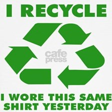I Recycle Joke Toddler T-Shirt